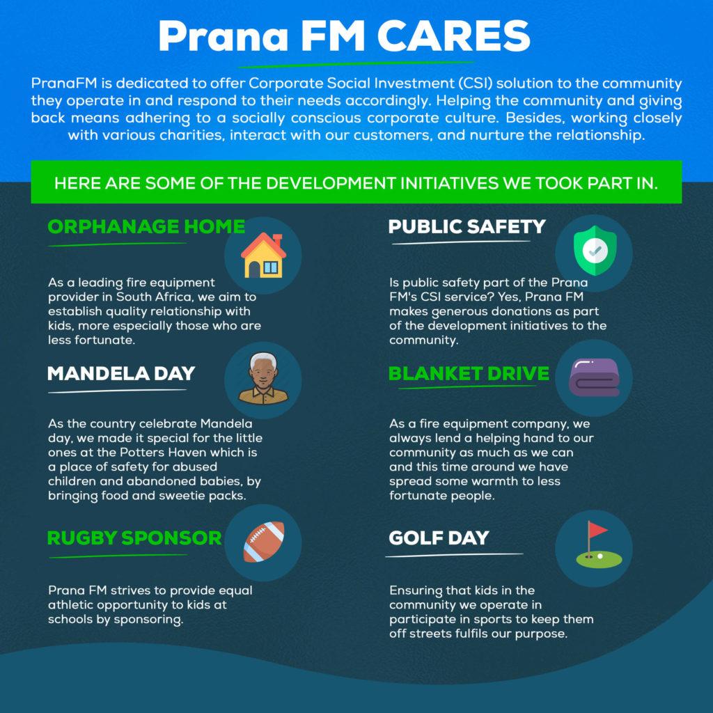 Prana FM Corporate Social Investment (CSI)